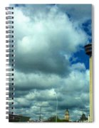 Tower Of The Americas Scene Spiral Notebook