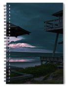 Tower Over The Shoreline Spiral Notebook