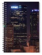Towering Buildings Of Pittsburgh Spiral Notebook