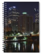 Towering Over The River Spiral Notebook