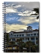 Towering Palm Spiral Notebook
