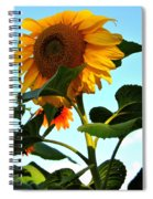 Towering Sunflower Spiral Notebook