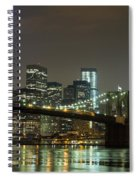 Towers Of Light Spiral Notebook