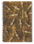 Towers Of Old Britain Spiral Notebook