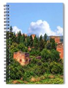 Towers Of The Alhambra Spiral Notebook