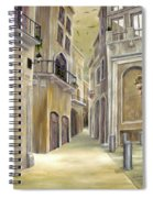 Town Alley Spiral Notebook