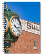 Town Clock Lincoln Nebraska Spiral Notebook