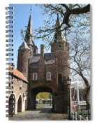 Town Gate - Delft Spiral Notebook