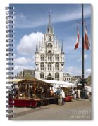 Town-hall And Marketplace Spiral Notebook