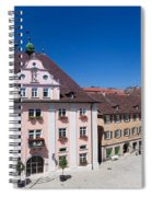 Town Hall And St. Martin Cathedral Spiral Notebook