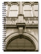 Town Hall, Arch And Windows Spiral Notebook