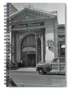 Town House And Woody Station Wagon, Alvarado Street - Monterey   Spiral Notebook