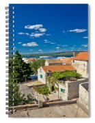 Town Of Betina Architecture And Coast Spiral Notebook