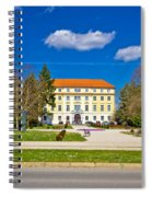 Town Of Ludbreg Square View Spiral Notebook