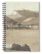 Town Of Lugano, Switzerland, 1781  Spiral Notebook