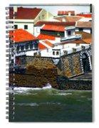Town Of Porto Pim Spiral Notebook