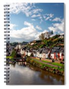 Town Of Saarburg Spiral Notebook