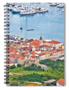 Town Of Seget Aerial View Spiral Notebook