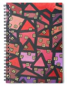 Town Of The Rising Sun Spiral Notebook