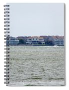 Town On The Water Spiral Notebook