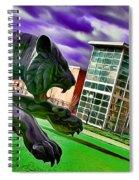 Towson Tigers Spiral Notebook