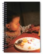 Toy And Cookie Spiral Notebook