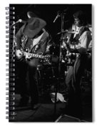 Toy And Tommy At Winterland 1976 Spiral Notebook