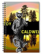 Toy Caldwell At Amber Lake 2 Spiral Notebook