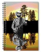 Toy Caldwell At Amber Lake Spiral Notebook