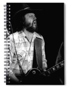 Toy Caldwell Screaming Guitar Spiral Notebook