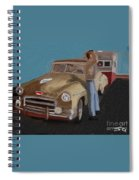 Toy Car Holiday Spiral Notebook