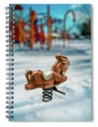Toy Mule Spiral Notebook