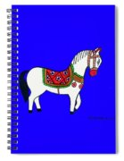 Toy Wooden Horse 1 Spiral Notebook