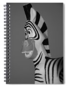 Toy Zebra Spiral Notebook