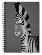 Toy Zebra Spiral Notebook