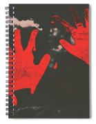 Trace Of A Serial Killer Spiral Notebook