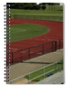 Track And Field Of Depth  Spiral Notebook