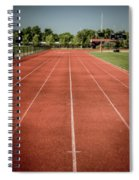 Track And Field Of Depth One Spiral Notebook