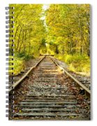 Track To Nowhere Spiral Notebook