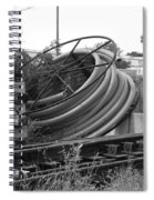 Tracks And Cable Spiral Notebook