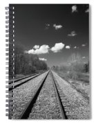Tracks To Nowhere 1520 Spiral Notebook