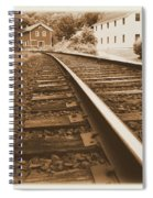 Tracks To Town Spiral Notebook
