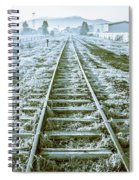 Tracks To Travel Tasmania Spiral Notebook