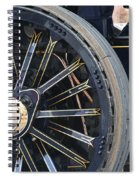 Traction Engine.  Spiral Notebook