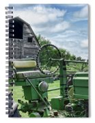 Tractor Barn Spiral Notebook