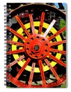 Tractor Big Wheel Spiral Notebook