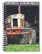 Tractor Spiral Notebook