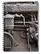 Tractor Engine II Spiral Notebook