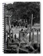 Tractor Graveyard Spiral Notebook