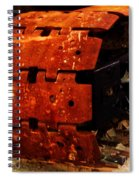 Tractor Track Spiral Notebook